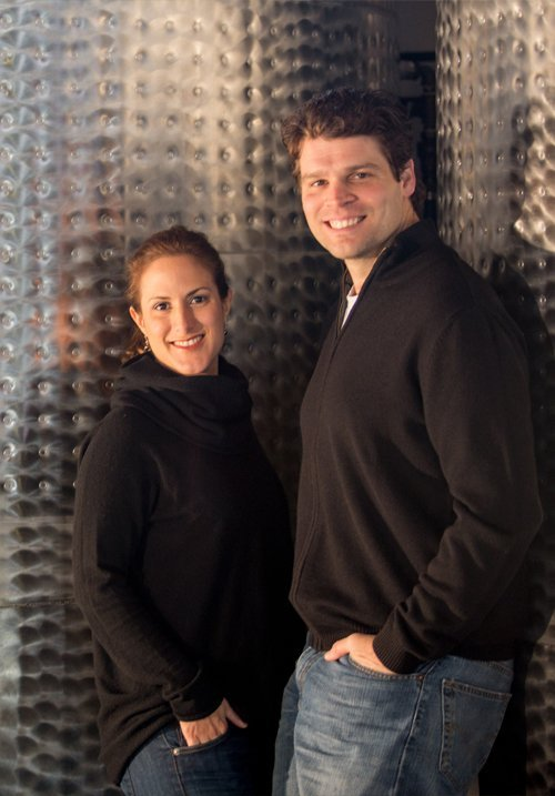Winemakers with Steel Tanks