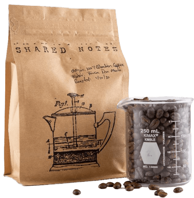 Shared Notes 100% Colombian Coffee