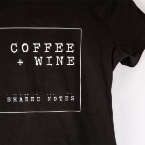 Shared Notes Black T-shirt