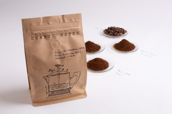 Shared Notes Single Origin Shared Notes 100% Colombian Coffee from Finca Don Felix