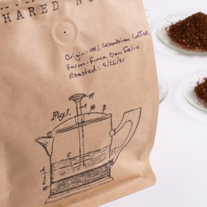 Shared Notes Single Origin Shared Notes 100% Colombian Coffee Whole Bean and Ground