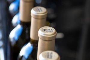 Shared Notes Bottles Custom Gold Foil